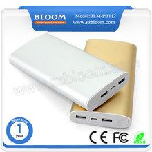 2015 high capacity powerbank alumimum case 20000mah slim power bank charger for iphone 5 5s 6 6s