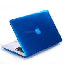 pure color ROHS standard waterproof laptop case for macbook pro soft hard case for macbook pro