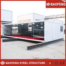 low cost prefabricated living new 40 hq container