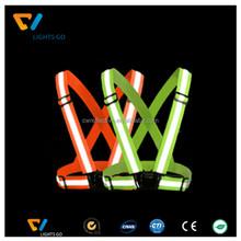 yeni tasarım elastik yüksek görünürlük özel naylon yansıtıcı emniyet kemeri