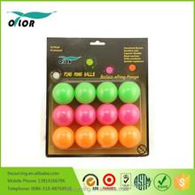 12 pack plastic beer table tennis balls