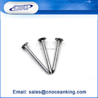 Sales Excellent Factory Direct Sales galvanized umbrella head 2.5 inch roofing nail