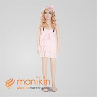 Wholesale plastic 12 year old girl models
