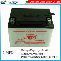 Motorcycle battery,12V4AH SMF motorcycle battery for HONDA,storage battery