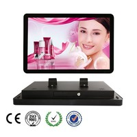 "22"" Network LCD Advertising Monitor For Bus"