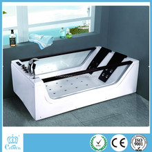 Hot sale new round acrylic bathtub,indoor whirlpool bathtub 12 person hot tubs