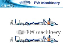 new designed pp pe film recycling line for sale
