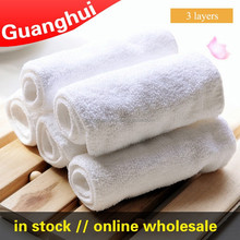 Hot Sale,Easy Use And Reusable 2 layers Baby Nappies Soft And Breathable Baby Cloth Diaper Paper Infant Washable Nappy