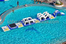2015inflatable floating obstacle, inflatable pool obstacle