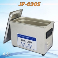 metal parts cleaning equipment JP-030S 4.5 L heat ultrasonic cleaner