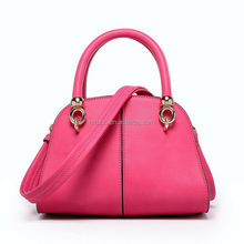 Popular suede leather hand bag/manufacture leather hand bag/leather woman hand bag china factory