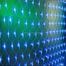 New christmas product red yellow blue green white net lights