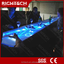 Staggering and attractive interactive sound illuminated bar table led table