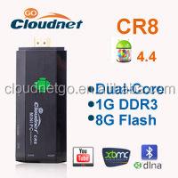 RK3066 Cortex A9 Dual Core 1.6GHz mk808 mini pc CS102 III Google Android 4.4 smart HDMI TV stick/tv dongle/mini PC