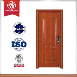 interior wooden doors black walnut vennel door pvc MDF door