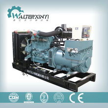 400kw self running fuel less air cooled diesel generator with Daewoo engine