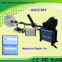 Wholesale Treasure Hunting Black under ground metal detector, Gold Silver Copper Metal Detector Gold Spy