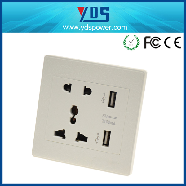 Power Outlet Hotel Wall Lamp,Universal Wall Socket Usb Charger,Usb Outlet - Buy Power Outlet ...