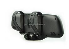"Full HD 1080P Car DVRs Dual Lens Car DVR Camera GPS tracker Car DVR Camera Recorder 4.3"" GPS tracker G-sensor 170 Degree Angle"