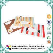 Cheap bulk full color artpaper varnishing envelope printed handmade customized nfc business card paper