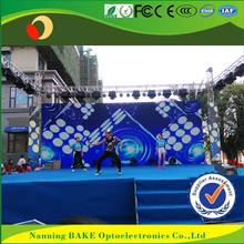 P6 outdoor rental billboard advertising video blue film indonesia led screen