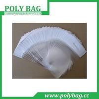 Custom Size Xiamen Factory Clear Plastic Self Adhesive Bag