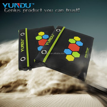 portable foldable solar mobile phone charger for outdoor use