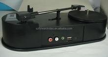 USB Turntable Player , audio recording,audio converter-ezcap613