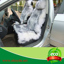 sheep skin fur funny car seat covers made in china