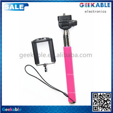 Contemporary Hot Sell Easy Carry Hand Held Phone Monopod Selfie Stick