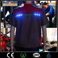 uniform design reflective led tshirt man suit