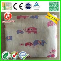 Woven cotton organic muslin swaddle blanket wholesale