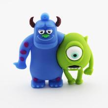 Bulk hot kids gift usb flash drive 4tb ,Monster usb stick of Shrek cartoon usb pen drive 8gb