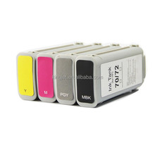 Kingjet compatible inkjet cartridge with chip For HP Designjet T1300 hp 72 ink cartridge