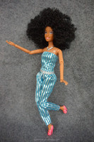 11.5 inch Jointed Black fashion girl dolls