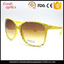 Fashionable design high quality orange lens sunglasses