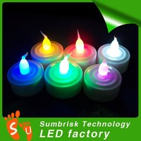 2 CR2032 battery flameless diwali candle