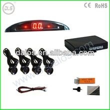 Best sale moon-type LED digit display car parking sensor, cheapest LED parking sensor only us$6.9