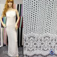 fashion wholesale cotton nylon fabrics sample lace