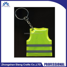 Promotional giveaway custom reflective cell phone cleaner keychain