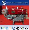 zs1115 20hp solo cilindro del motor refrigerado por agua