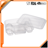 Plastic Food grade pp bpa free food disposable containers