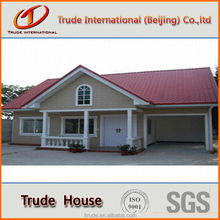 beautiful prefabricated building with exquisite decoration