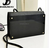 High quality mobile wallet new design cheap acrylic mirror cell phone sling bag