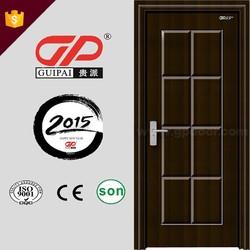 China supplier home used 3D bedroom design interior door, pvc door, wooden door