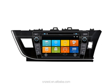 HD touch screen Car Sat Navi headunit For TOYOTA COROLLA surpport OEM/ODM