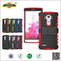 Shockproof Shockproof Soft Silicon & Hard Plastic Cover Case for LG g4 case