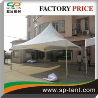 5X5m outdoor aluminum frame heated solar tent for sale