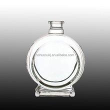Item HSB 94 clear glass wine bottle supplier glass sparkling water bottle