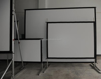 Rear Projection Fast Fold Projector Screen